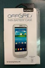 Incipio OFFERED Thin Battery Case for Samsung Galaxy SIII - White  (SA-042)