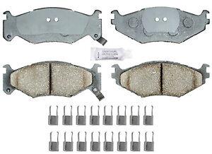 Frt Ceramic Brake Pads  ACDelco Advantage  14D522CH