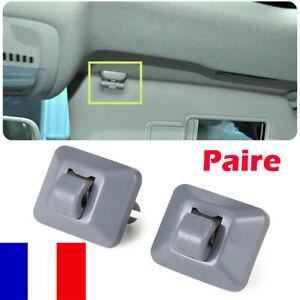 2x Clip pare Soleil Crochet Support Pour Audi A1 A3 A4 A5 Q3 Q5 TT 8U0857562A FR