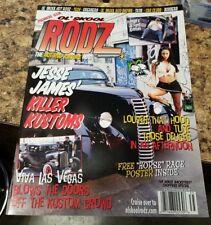 2003 OL SKOOL RODZ  HOT ROD KULTURE MAG PIN-UP GIRLS MUSCLE CARS & POSTER #1