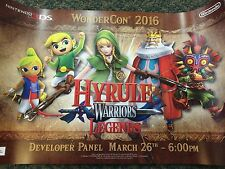 SDCC E3 WonderCon 2016 Nintendo Hyrule Warriors Zelda Legends 3DS Poster