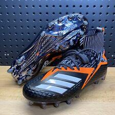 Adidas Freak Ultra Primeknit Black Orange Football Cleats Boost B27968 Men's 9.5
