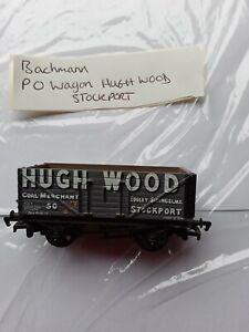 Bachmann Model Railways OO GAUGE -P O WAGON - HUGH WOOD/STOCKPORT - no box