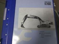 Volvo EC700C Excavator Service Manual