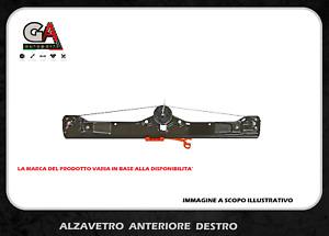 Alzavetro Fiat Grande Punto Evo Alzacristalli Elettrico Anteriore Destro Dx
