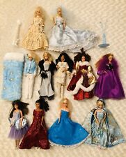 New ListingBarbie Unique Vintage Lot Of 10 Dolls W/ Custom Made Dress & Gowns