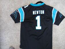 Nike Nfl Carolina Panthers Cam Newton Pro Football Jersey Youth L