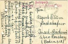 German WWII Feldpost 165th Inf Div~Netherlands~Vichy~Durch Deutsche Dienstpost~