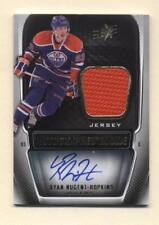 2011-12 SPx Ryan Nugent-Hopkins Autograph Jersey Rookie (Oilers) # 494/499