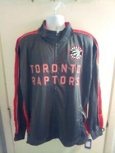 NEW NBA Toronto Raptors Men's Lightweight Jacket 3X Full Zipper NWT