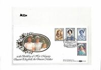 AL230 1990 GB Commemorative Cover '90th Birthday of HM Queen Elizabeth Mother'