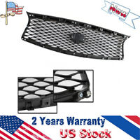 JDM Eau Style Front Upper Grille w/Mesh Replacement fits for 14-17 Infiniti Q50