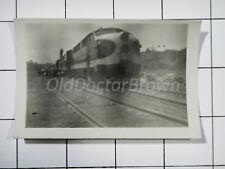 Electro-Motive Corporation: EMC Engine 6100: Bulldog Nose: Train Photo