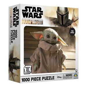 STAR WARS ~ The Mandalorian ~ The Child ~ Baby Yoda ~ 1000 Piece Puzzle ~ BNIB