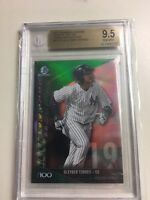 2017 Bowman Chrome Scouts Top 100 Green Refractors Gleyber Torres BGS 9.5 #8/99