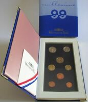 France Proof Coin Set 1999