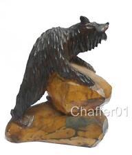 Black Forest Antique Woodenware Carved Figures
