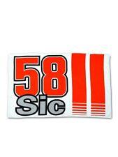 Official Marco Simoncelli Super Sic 58 Flag - 18 55005