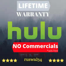 📺 HULU No Commercials - NO Ads | LIFETIME Sub | +Warranty+