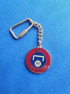 Enamel keychain key holder key ring Serbia football association federation FSS