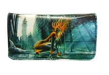 Tobacco Case Pouch Synthetic Leather Wallet Bag Rolling Lady Avatar