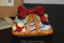 Longaberger 2006 Holiday Little Gifts Stoneware LID #31655 NEW