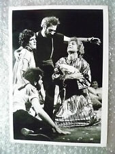 Theatre Actors Real Press Photo- Casting Scene from 1968 TWELFTH NIGHT Drama.