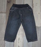 ✨ Pantalon en jean bleu OBAIBI 18 mois ✨