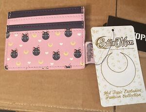 Loungefly Sailor Moon Licensed Luna The Cat Cardholder ID Holder Wallet