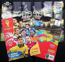 Cover and Gameboard - Nordic - Panini Adrenalyn XL FIFA World Cup Brasil 2014