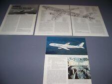 VINTAGE..AIRBUS A300 B-2..3-VIEWS/CUTAWAY/DETAILS...RARE! (940A)