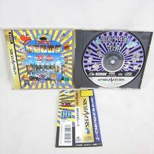 Sega Saturn DENPA SHONEN TEKI GAME B type with SPINE CARD * Hudson Japan Game ss