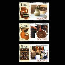 Moldova 2014 Traditional Folk Crafts 3 MNH stamps