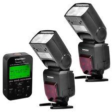 2 x Yongnuo YN-685 Wireless Flash Speedlite + YN 622C-TX Flash for Canon 600D 7D