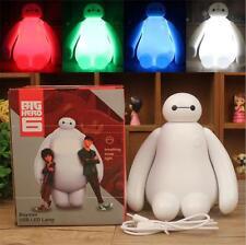 Changing Color Big Hero 6 Baymax USB LED Table Desk Lamp Light Christmas Gift