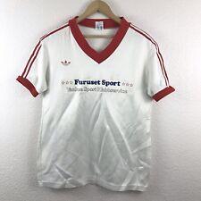 Vintage Vtg 70's Adidas T-Shirt Jersey Men's Sz Medium Deutscher Fussball Bund