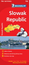 Slovak Republic National Map 756 by Michelin (Sheet map, folded, Road Map)