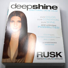 Rusk Deep Shine Marine Cream Hair Color 3.4 Oz  W/developer 5 oz