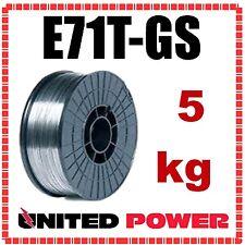 5kg 0.8mm  E71T-GS GASLESS MIG WELDING WIRE FLUX CORED MILD STEEL