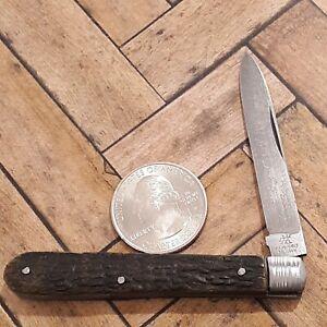 J A HENCKELS KNIFE MADE IN SOLINGEN GERMANY SINGLE BLADE VINTAGE FOLDING POCKET
