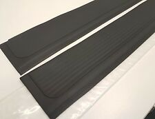 Mercedes SL SLC r107 Rubber Sill Covers. Black.