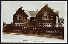 c.1920 Technical School Ballymoney County Antrim Northern Ireland Postcard B38