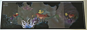Disney's The Little Mermaid Production Pan Size Cel (Three Cels) 24 Inches
