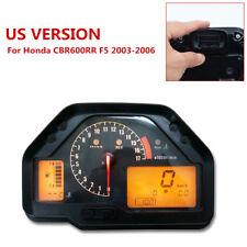Motorcycle Speedometer Gauges Cluster Odometer for Honda CBR 600RR 2003-2006