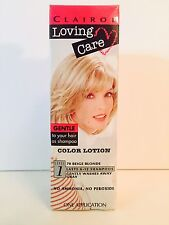 Loving Care 70 Beige Blonde Color Lotion Hair Color by Clairol
