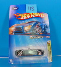 #113 HOT WHEELS 2005 #001 FORD SHELBY COBRA CONCEPT REALISIX #1/20