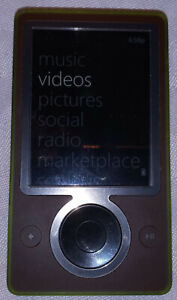 Microsoft Zune 30GB / with new Battery Model 1091 with extras