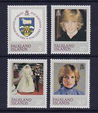 Falkland est.1982 21e Anniversaire SG 426-429 neuf sans charnière.