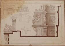 RICORDI DI ARCHITETTURA CORO DUOMO DI SIENA BARTOLOMMEO NERONI TOSCANA 1899