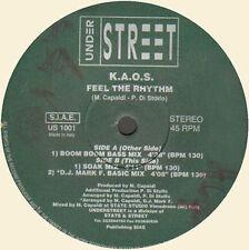 K.A.O.S Feel The Rhythm - Unter street - Ita - US 1001